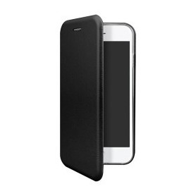 """OKKES"" Book Case ""Osaka"" pour Apple Iphone 7 noir"