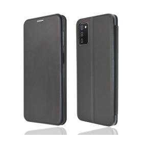 """OKKES"" Book Case ""Osaka"" pour Samsung A025G Galaxy A02s noir"