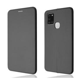 """OKKES"" Book Case ""Osaka"" pour Samsung A217F Galaxy A21s noir"