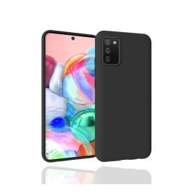 """OKKES"" ""Basic"" TPU Case pour Samsung A025G Galaxy A02s noir"