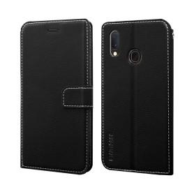 "Star-Case ® Book Case ""Soul"" pour Samsung A202F Galaxy A20e noir"
