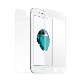 """""""Star-Case"""" ® Fullcover Premium 3D Tempered Glass Apple Iphone 7 Plus / 8 Plus Blanc"""