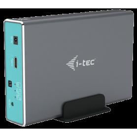 "Boitier externe i-Tec Mysafe USB Type C 3.1 - 2x 2""1/2 S-ATA"