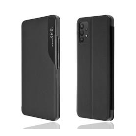 """OKKES"" Book Case ""SmartView"" pour Samsung A325F Galaxy A32 4G noir"