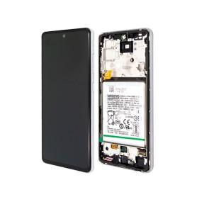 LCD écran Samsung A525F Galaxy A52 4G / A526B A52 5G Originale + Batterie Awesome Blanc