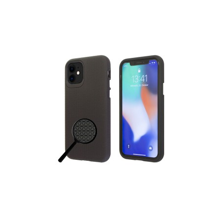 """""""OKKES"""" """"JUMP Plus"""" pour Apple Iphone 7 / 8 / SE 2 Clear - noir"""