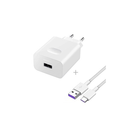 chargeur Huawei HW-050450E01 Originale Super Charger inkl. USB TYP-C Câbles Data HL-1289
