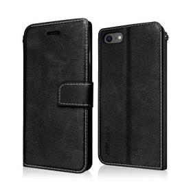 """Star-Case ® Book Case """"Soul"""" pour Apple Iphone 7P / 8P noir"""