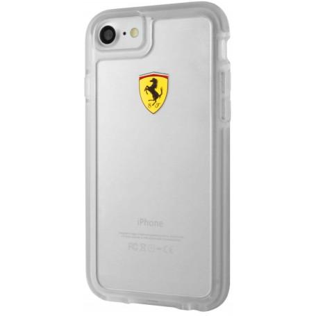 Coque pour iPhone 7/8/SE édition Ferrari (transparente)