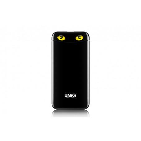 Batterie de secours (PowerBank) couleur noir 6000 mAh