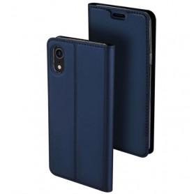 Housse de protection iPhone XR bleu