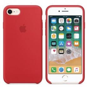 Coque de Protection en silicone rouge pour iPhone 7/8/SE2020